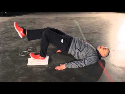 Hockey Training: CRAZY Leg Strength Drill