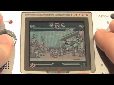 the last blade neo geo pocket color