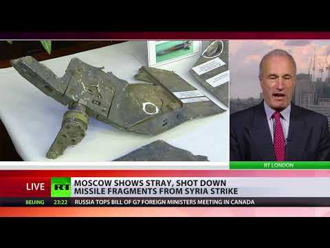 US: '105 missiles hit their targets in Syria' vs. Russian MoD: 'Only 25 successful hits'