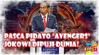 Video Meski Tak Fasih Inggris, Pasca Pidato Avengers, Jokowi Dipuji Dunia! MP3, 3GP, MP4, WEBM, AVI, FLV Februari 2019