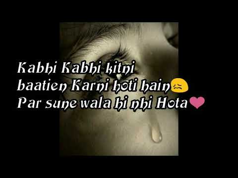 Heart touching video sad Quotes