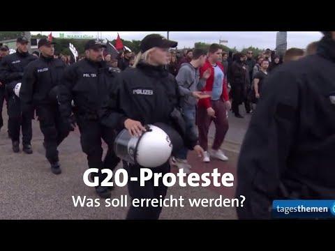 Was treibt G20-Gegner an?