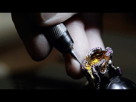 The Making of The Flame Ring by Stephen Einhorn London - British Fine Jewellery & Craftsmanship