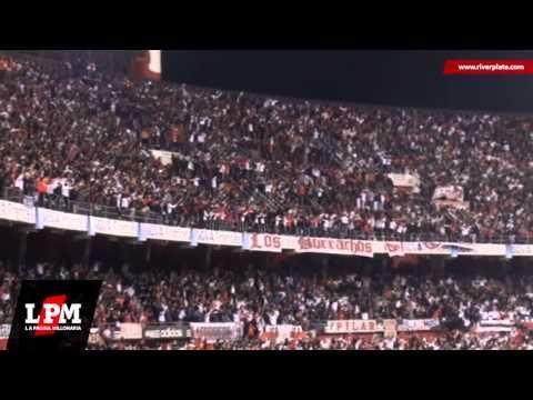 Video - Vamos Millonario, vamos a ganar - River vs. San Lorenzo - Copa Sudamericana 2013 - Los Borrachos del Tablón - River Plate - Argentina
