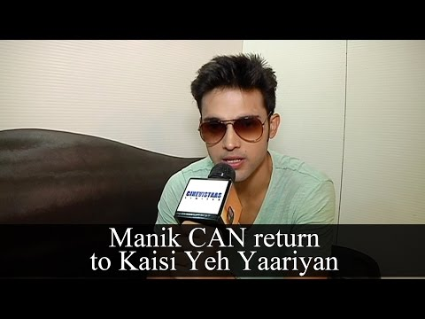 Parth Samthan aka Manik CAN comeback in Kaisi Yeh
