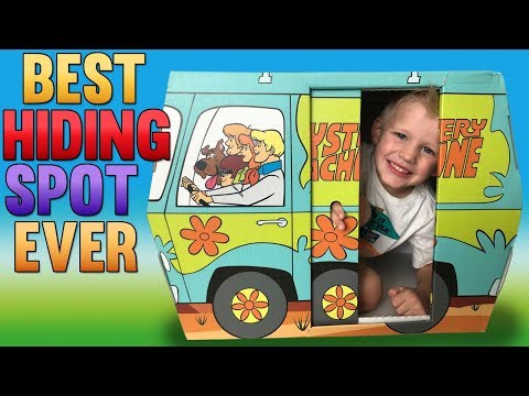Best Hiding Spot Ever! Scooby Doo Playtime with Michael