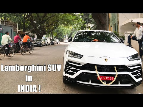 Lamborghini SUV Urus In INDIA (Bangalore) - South India's First