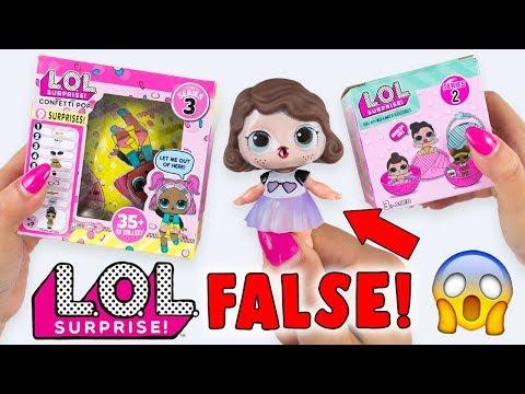 LOL Surprise FALSE trovate in EDICOLA!! NON CI CREDO! (видео)