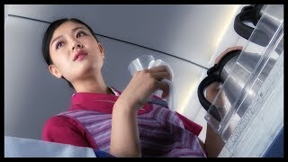 What is air travel like on China? Laowhy86 and SerpentZA take to the skies in a Chinese airline, and explain everything from flight attendants to airplane food in ...