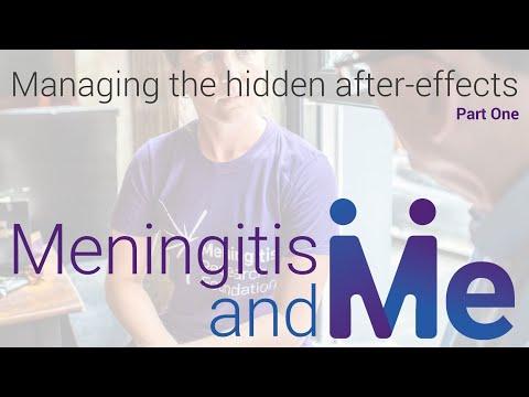 Meningitis & Me: Managing the 'hidden' after effects from meningitis (Part 2)