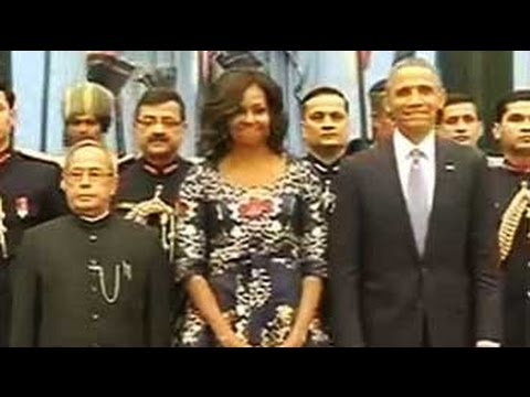 set - Chief Guest for the Republic Day Parade, US President Barack Obama, will take the salute at New Delhi's Rajpath at 10 am today. The first US president to visit India twice during office, Mr...