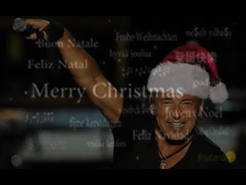 Bruce Springsteen - Santa Claus Is Coming To Town - 1978-2016 Montage
