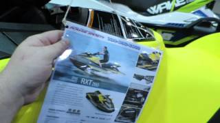 10. 2016 Seadoo RXT 260 Review