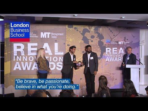 Real Innovation Awards 2017: awards night insights   London Business School