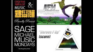 Sage Michael Music videoklipp Heroes F Up (JFH: Justice For Hire videoklipp Comic Book Season 1 Soundtrack)
