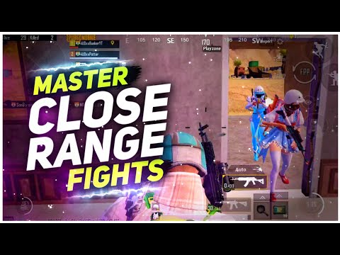 New Close Range Tips And Tricks That Everyone Should Know | Pubg Mobile