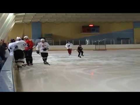 Besa Tsintsadze's power skating video with S.Gonchar & E.Malkin – part1