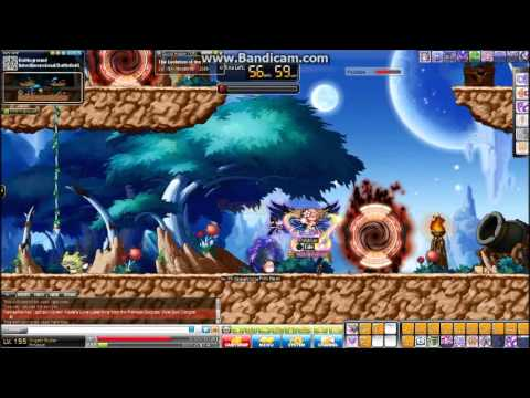 level 155 Angelic Buster Gameplay (Maplestory GMS)
