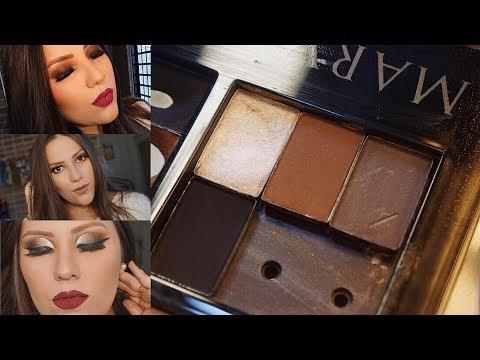 3 opções de maquiagem com sombras Mary Kay