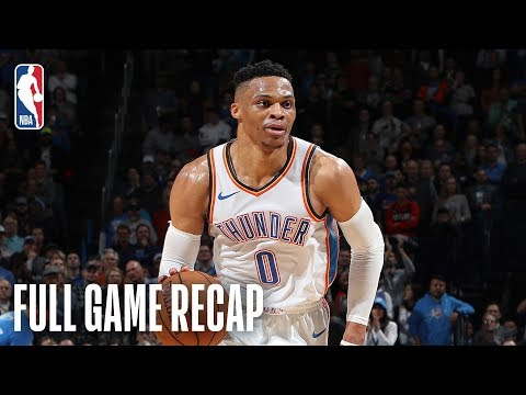 Video: TRAIL BLAZERS vs THUNDER| History Is Made In OKC | February 11, 2019