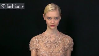 Elie Saab Couture Backstage Spring/Summer 2013 | Paris Couture Fashion Week | FashionTV