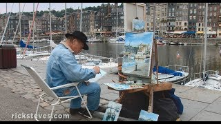 Honfleur France  city pictures gallery : Honfleur, France: Easygoing Marina