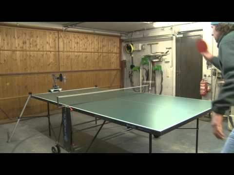 The UHTTR1 a ping pong robot
