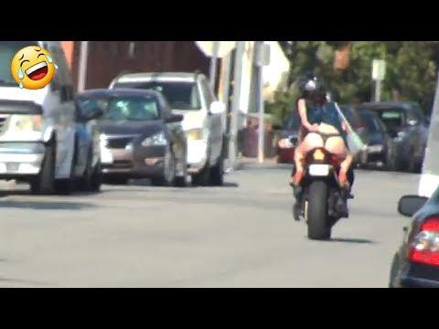 Motorcycle Uber PRANK