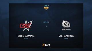 CDEC Gaming vs Vici Gaming, Game 2, Dota Summit 7, CN Qualifier