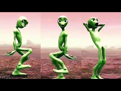 New Alien Dance Full Version - Dame Tu Cosita (видео)