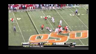 Landry Jones vs Oklahoma State (2011)