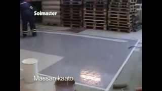Устройство полимерного покрытия пола
