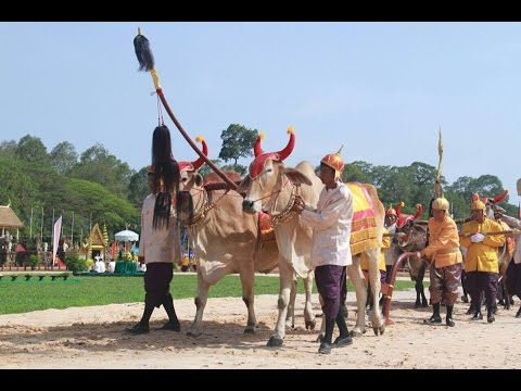 The Royal Ploughing Ceremony 24 May 2016, SIEM REAP