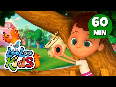 Two Little Dickie Birds - Educational Songs for Children | LooLoo Kids