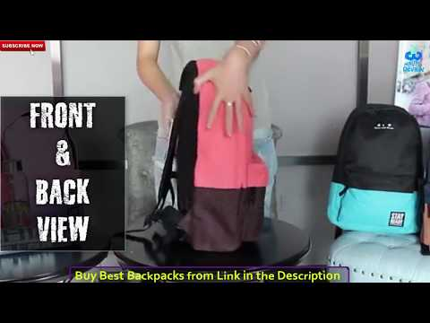 Best backpack for girls 2018 | Backpack for Teenagers | Fashionable | Scratch proof | Spot Resistant