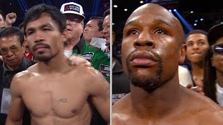 Mayweather Vs. Pacquiao: Face Off In Vegas Match