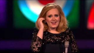 Adele wins Best Album of the year - Brit Awards 2012 HD