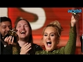 Adele Breaks Her Grammy in Half for Beyoncé