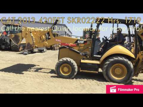CATERPILLAR BACKHOE LOADERS 420F equipment video imeIKnpc_pg