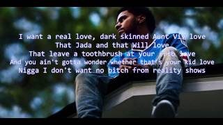 Video J Cole - No Role Models (2014 Forest Hills Drive)  LYRIC VIDEO MP3, 3GP, MP4, WEBM, AVI, FLV Agustus 2018