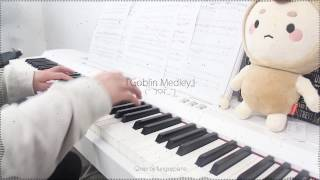 Video Goblin 도깨비 OST Medley / Remix / Compilation - piano w/ sheet music MP3, 3GP, MP4, WEBM, AVI, FLV Agustus 2018