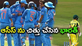 India beat defending champions Australia in the second semi-final of the ICC Women's Cricket World Cup 2017 in Derby on Thursday. Harmanpreet Kaur scored ...