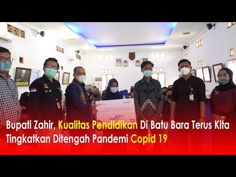 Bupati Zahir, Kualitas Pendidikan Di Batu Bara Terus Kita Tingkatkan Ditengah Pandemi Covid 19.