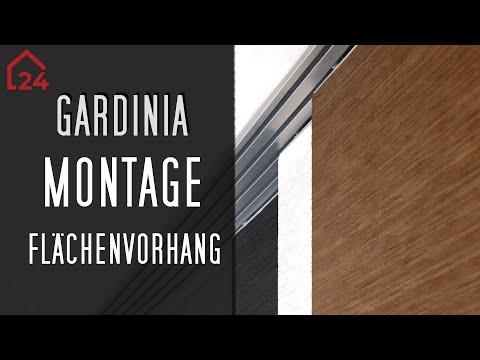 Gardinia Montagevideo für die Flächenvorhänge Day & Night 🔨