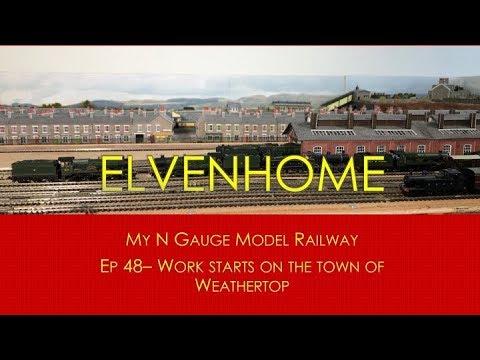 N Gauge Model Railway Layout Update - Elvenhome EP 48