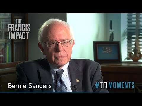 <strong>#TFImoments:</strong> Bernie Sanders and the pope's critique of global capitalism