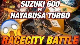 4. 500+ HP HAYABUSA TURBO vs SUZUKI 600 Semifinal Bike Class Drag Race | Racecity Battles