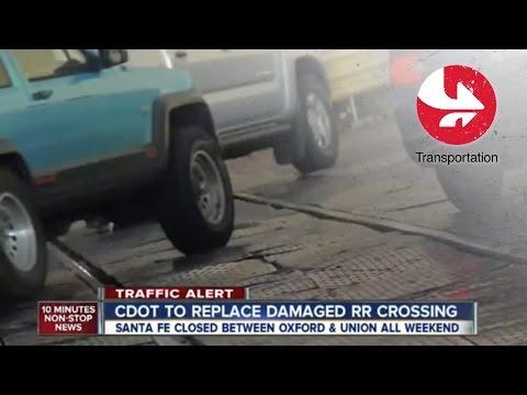 Precast Concrete Railroad Crossing in Action Video Thumbnail