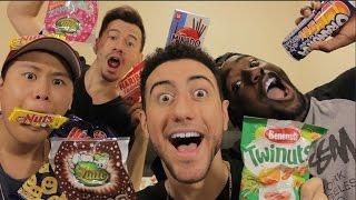 Taste Testing French Snacks! | SnackCrate