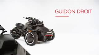 7. Guidon droit Can-Am Spyder 2018